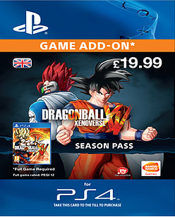Dragon Ball Xenoverse Season Pass (PlayStation 4) PlayStation Network Cover Art