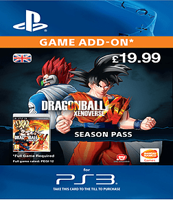 Dragon Ball Xenoverse Season Pass (PlayStation 3) PlayStation Network