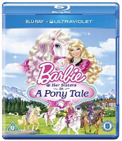Barbie & Her Sisters In A Pony Tale Blu-ray