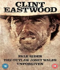 Clint Eastwood Westerns Collection 3 Disc Blu-ray