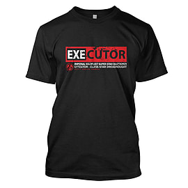 Star Wars: Executor Mens T-Shirt Medium Black Clothing