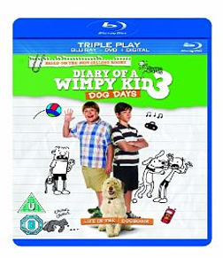 Diary of a Wimpy Kid 3: Dog Days [Triple pack] Blu-ray