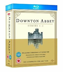 Downton Abbey - Series 1-3 / Christmas at Downton Abbey 2011 Blu-ray