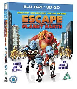 Escape From Planet Earth Blu-ray