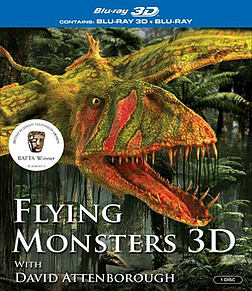 Flying Monsters [3D + Blu-ray] Blu-ray