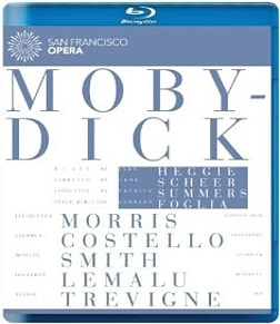 Heggie: Moby-Dick [Jay Hunter Morris, Stephen Costello, Morgan Smith] Blu-ray