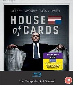 House of Cards - Season 1 [Blu-ray + UV] Blu-ray