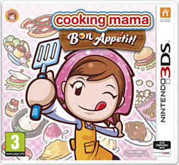 Cooking Mama: Bon Appetit! 3DS