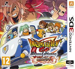 Inazuma Go Chrono Stones: Wildfire 3DS