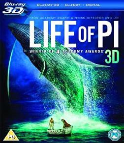 Life of Pi [3D + Blu-ray + Digital] Blu-ray