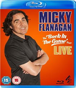 Micky Flanagan: Back In The Game Live Blu-ray