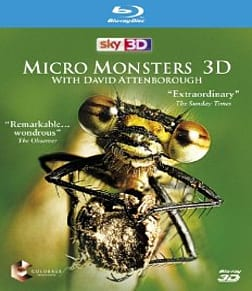Micro Monsters with David Attenborough 3D Blu-ray