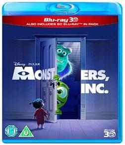 Monsters Inc. 3D + Blu-ray Blu-ray