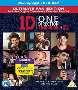 One Direction: This Is Us Blu-ray