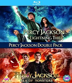 Percy Jackson Double Pack Blu-ray