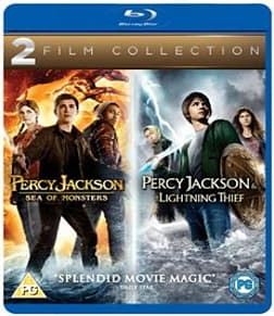 Percy Jackson and the Lightning Thief /Percy Jackson Sea of Monsters: Double Pack Blu-ray
