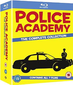 Police Academy 1-7 - The Complete Collection Boxset Blu-ray