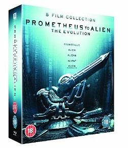 Prometheus to Alien: The Evolution Box Set Blu-ray