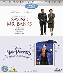 Saving Mr Banks & Mary Poppins Double Pack Blu-ray