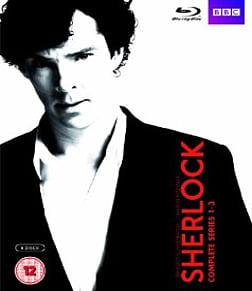 Sherlock - Series 1-3 Blu-ray
