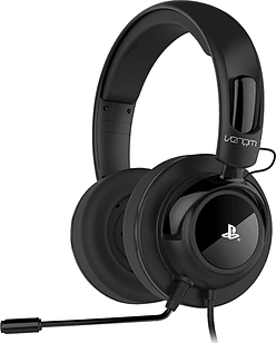 Venom Vibration Stereo Gaming Headset for PS4 and PS3 - Black Accessories