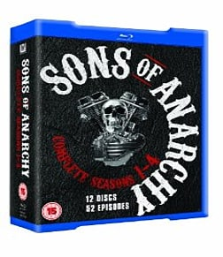 Sons of Anarchy - Season 1-4 Blu-ray