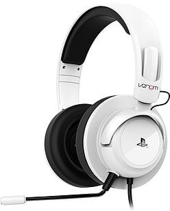 Venom Vibration Stereo Gaming Headset for PS4 and PS3 - White Accessories