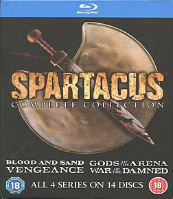 Spartacus: The Complete Collection Blu-ray