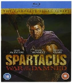 Spartacus: War of the Damned Blu-ray