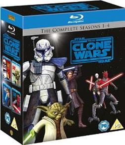 Star Wars Clone Wars - Season 1-4 Blu-ray