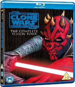 Star Wars Clone Wars - Season 4 Blu-ray