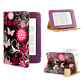 Amazon Kindle Paperwhite PU leather design book case Gerbera Tablet