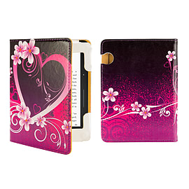 Amazon Kindle Voyage E-Reader PU leather design book - Love Heart Tablet