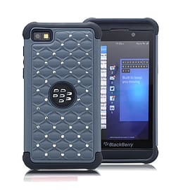 Blackberry Z10 Dual-layer Twinkle shockproof case - Grey Mobile phones