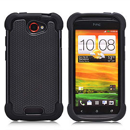 HTC One S Dual-layer shockproof case - Black Mobile phones
