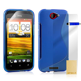 HTC One S S-Line gel case - Deep Blue Mobile phones