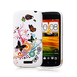 HTC One S TPU design case - Colour Butterfly Mobile phones