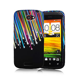 HTC One S TPU design case - Shooting Stars Mobile phones