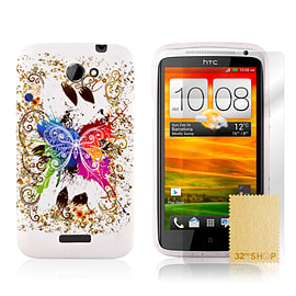 HTC One X TPU design case - Fantasy Butterfly Mobile phones