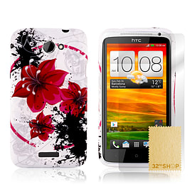 HTC One X TPU design case - Morning Glory Mobile phones