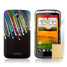 HTC One X TPU design case - Shooting Stars Mobile phones