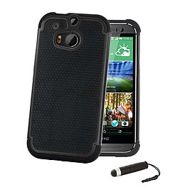 HTC One X Dual-layer shockproof case - Black Mobile phones