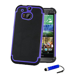 HTC One X Dual-layer shockproof case - Blue Mobile phones