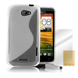 HTC One X S-Line gel case - Clear Mobile phones