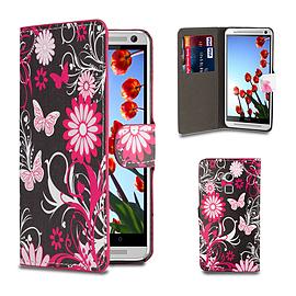 HTC One Max T6 PU leather design book case - Gerbera Mobile phones