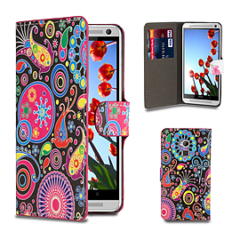 HTC One Max T6 PU leather design book case - Jellyfish Mobile phones