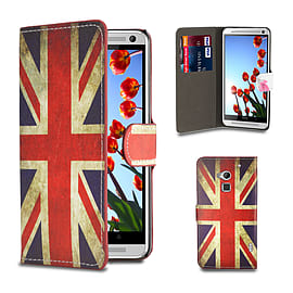 HTC One Max T6 PU leather design book case - Union Jack Mobile phones