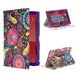 Nokia Lumia 2520 PU Leather Design book case - Jellyfish Mobile phones