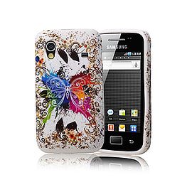 Samsung Galaxy Ace TPU design case - Fantasy Butterfly Mobile phones