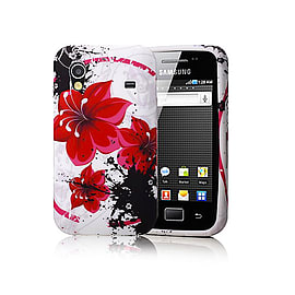 Samsung Galaxy Ace TPU design case - Morning Glory Mobile phones